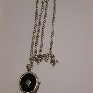 Vintage Watch Necklace  by Avenue